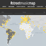 Straatmuziek in kaart gebracht
