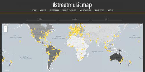 Streetmusicmap