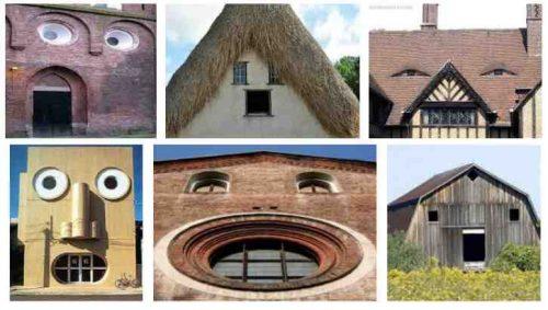 verbaasde huizen