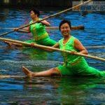 Nieuwe sport: bamboevaren