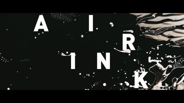 Inkt gemaakt uit luchtvervuiling