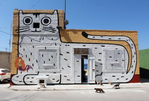 katten graffiti