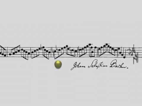 Muzikaal palindroom van Bach