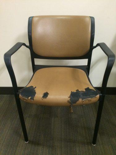 Zielige stoel