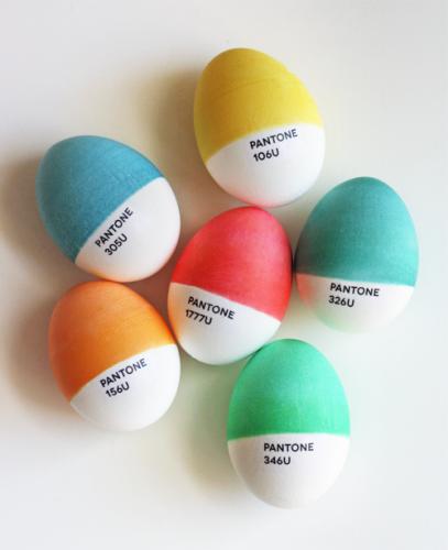Pantone eieren