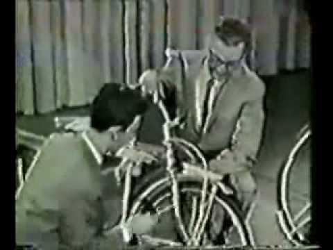 Frank Zappa op de fiets