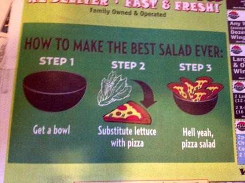 lekkerste salade ooit