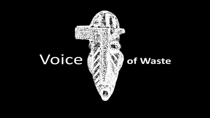 Stem van het afval