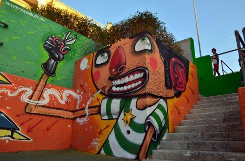 streetart kapsel