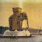 De bronzen olifant van Napoleon