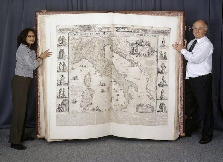 Grootste boek ter wereld: de Klencke Atlas