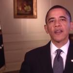 Obama spreekt de lezers Pasabon toe