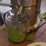 Bietjesinkt en zeefdrukken met spinazie