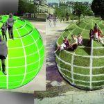 Groene illusies op parken en pleinen