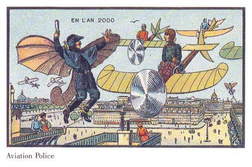 vliegende politie