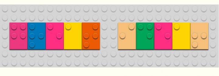 Braille bricks: speelgoed en leren lezen met lego