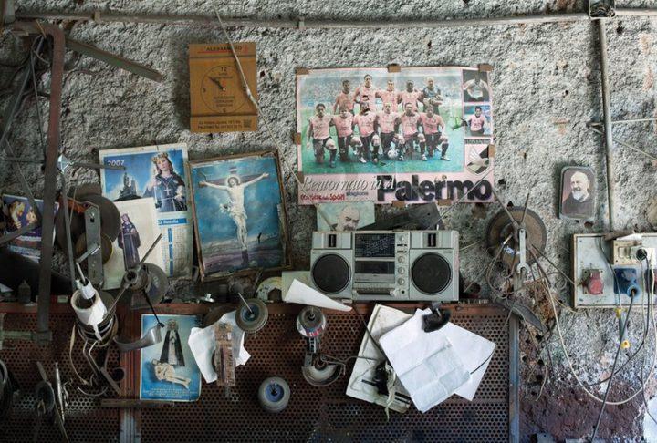 Ode aan het persoonlijk altaar in Sicilië