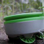 Robot die kan onkruid wieden