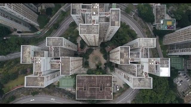 Geometrisch Hongkong