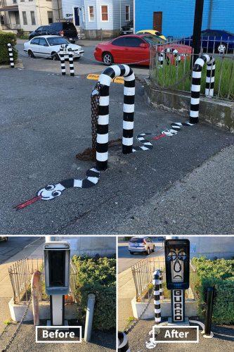 graffiti met humor
