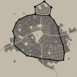 Maak zelf een kaart van een middeleeuws stadje
