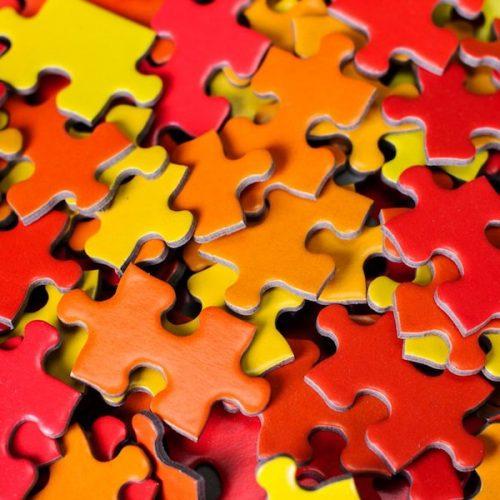 Puzzel met kleur