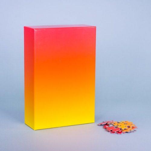 Puzzel met kleurverloop