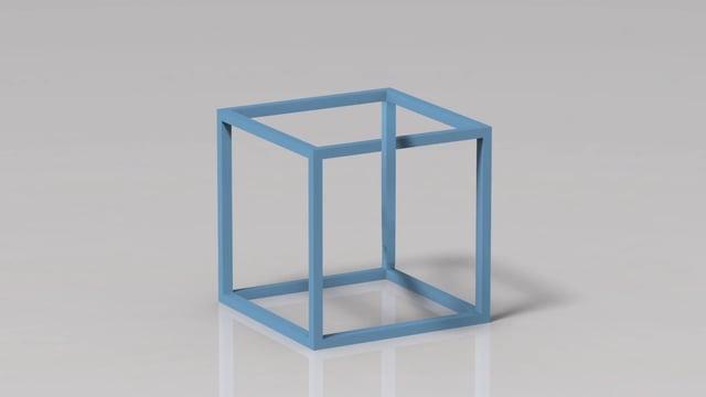 Onmogelijke kubus van Escher bestaat echt!