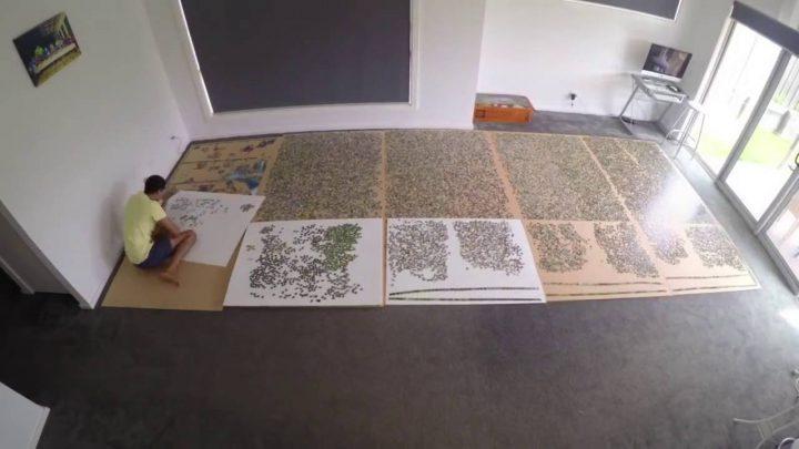 Puzzel van 33600 stukjes