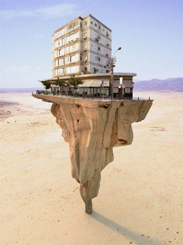 surrealistische architectuurfotografie