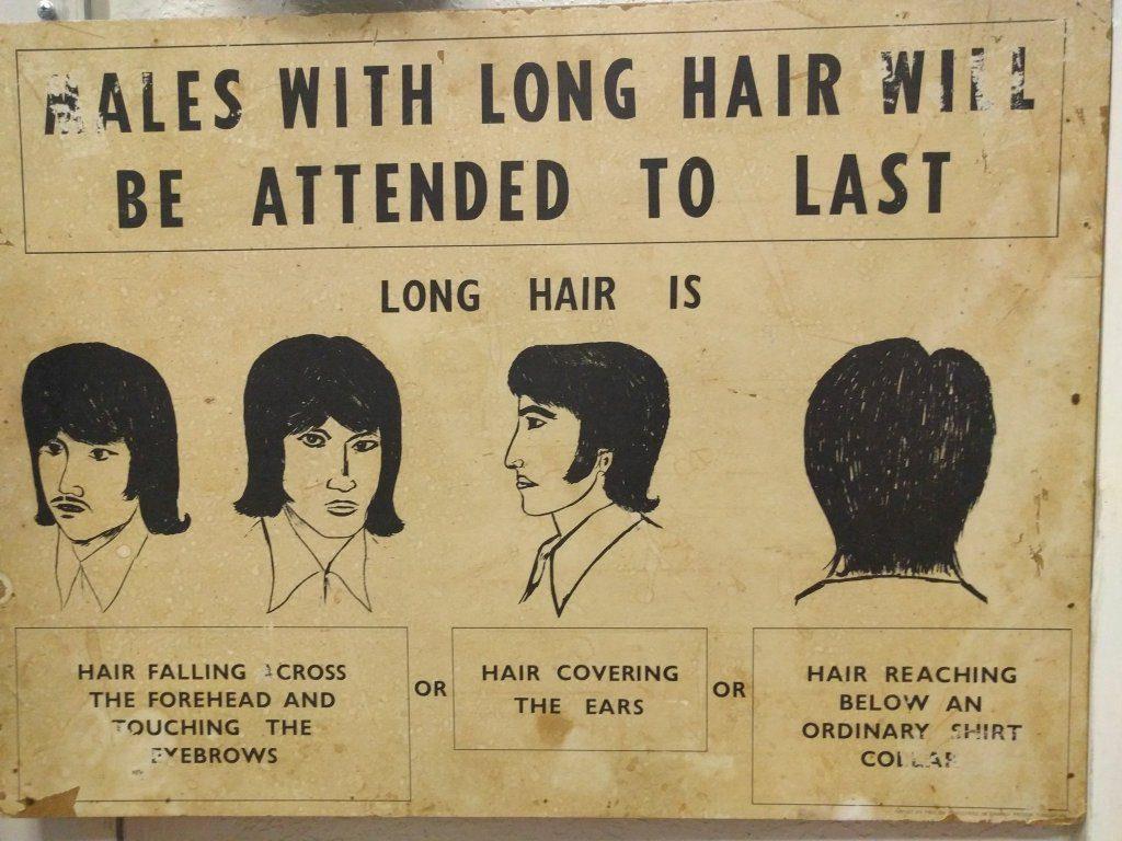 verbod op lang haar