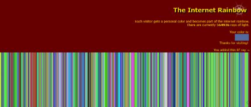 internet regenboog
