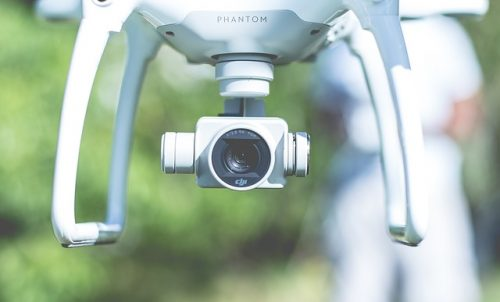 drone uit de lucht halen