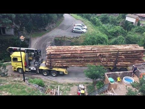 Stuurmanskunst met vrachtwagen