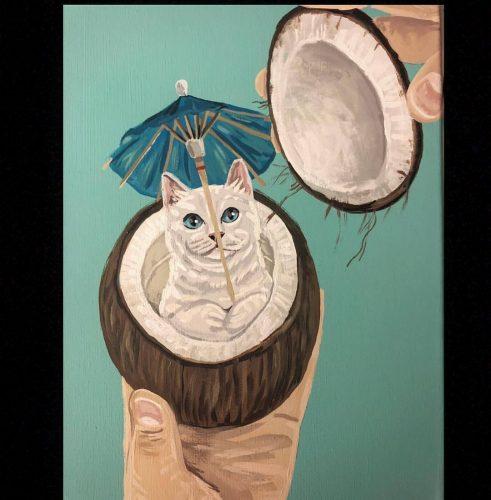 kattenschilderij