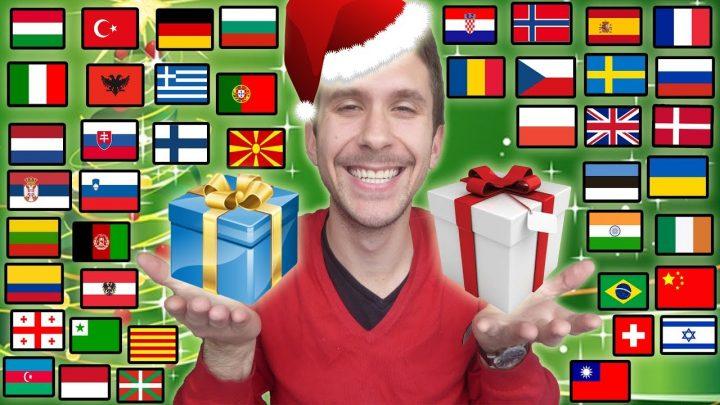 Vrolijk kerstfeest in 46 talen