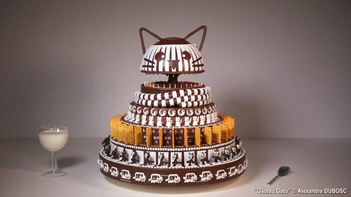 Katten taart zoötroop