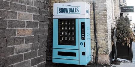 sneeuwbal machine