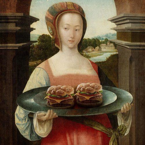 hamburger schilderij