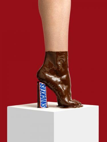 creatieve schoen
