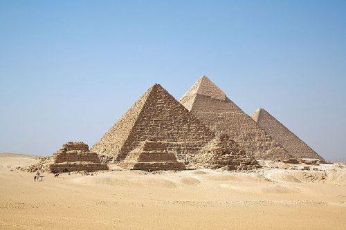 piramides van Egypte