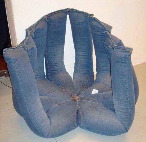 spijkerbroekenstoel