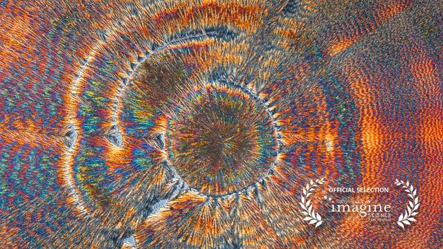 Hypnotiserende kunst van kristallen
