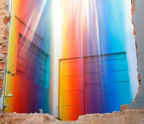 kleurrijke graffiti