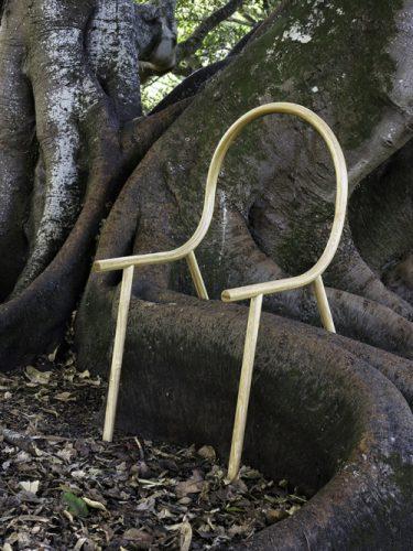 minimalistische stoel
