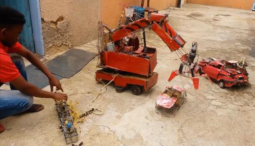 robots van afval