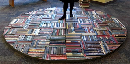 boeken tapijt