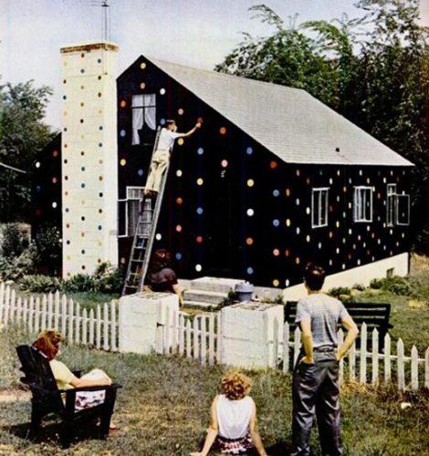 polkadot huis