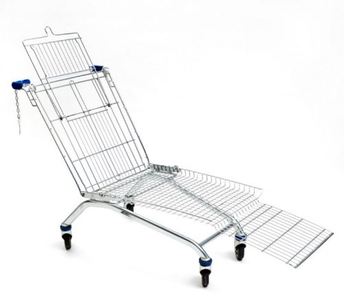 winkelwagen ligstoel