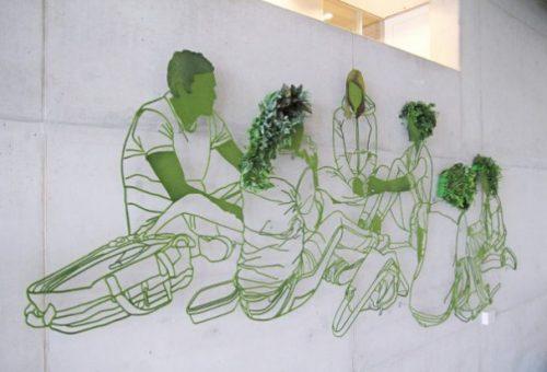 groene graffit